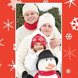 Holiday Greeting Card Photo Border With Photoshop