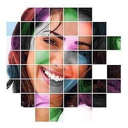 Color Grid Design In Photoshop