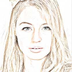 Portrait Photo To Color Sketch - Photoshop Tutorial
