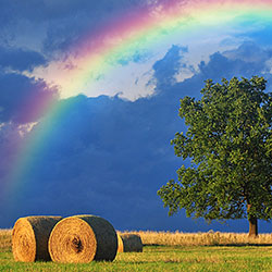 Add A Rainbow To A Photo With Photoshop