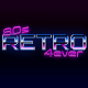 Photoshop 80s Retro Text Effect