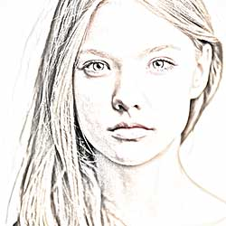Portrait Photo To Pencil Sketch With Photoshop CS6