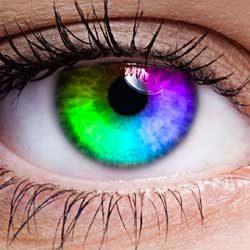 Rainbow Eye Color in Photoshop CC 2020