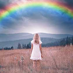 How to add a rainbow to an image with Photoshop CC 2020